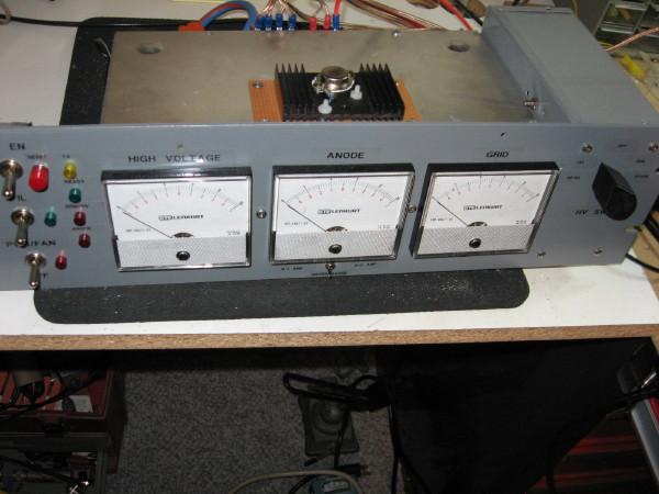 KL7UW 8877 Amplifier page