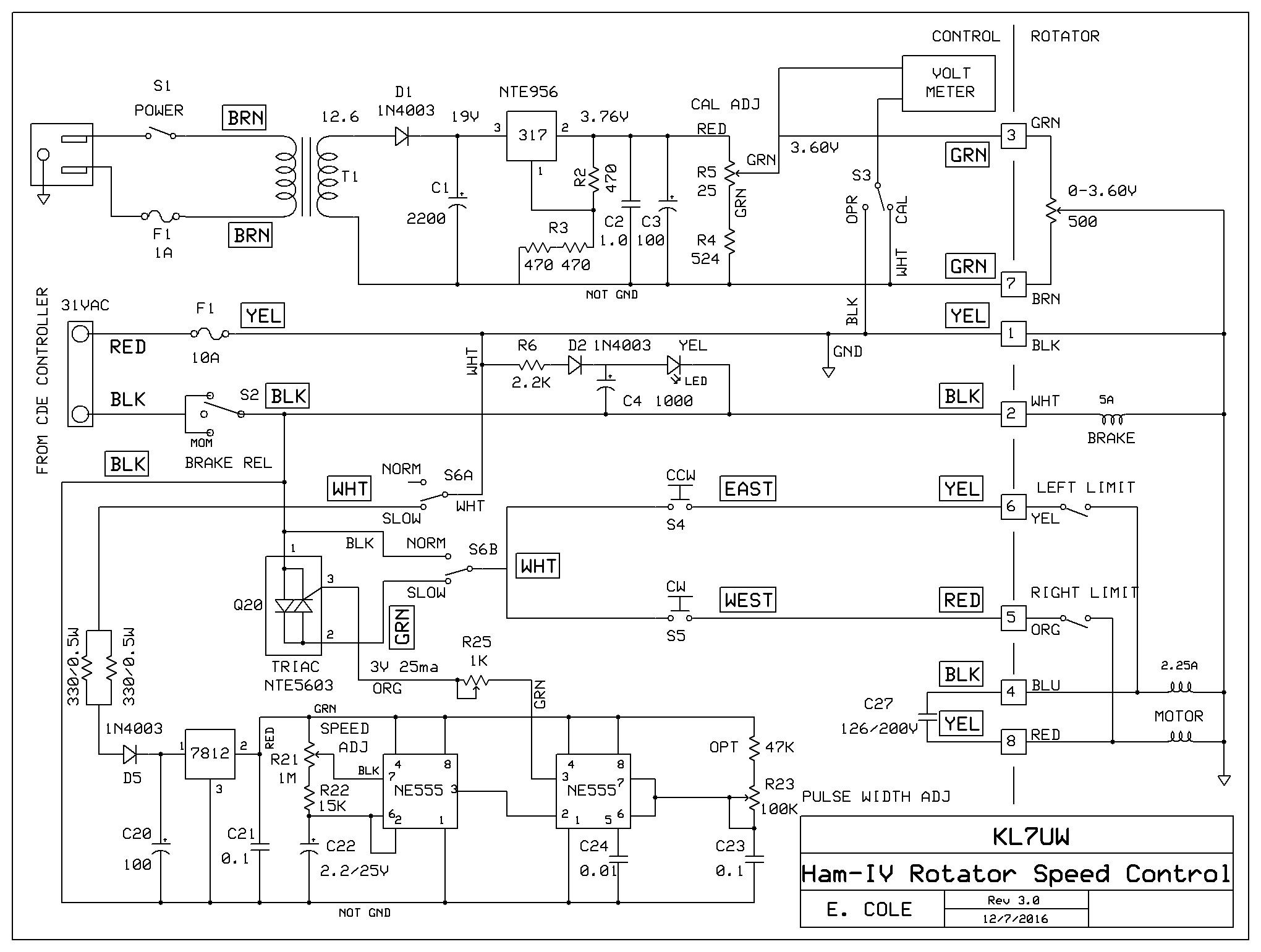 Ham Iv Wiring Diagram Great Installation Of Control Cde Rotor Todays Rh 2 13 1813weddingbarn Com 4